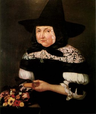 Mary Bliss Parsons, who was charged with being a witch.