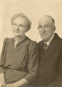 Edd and Myrtie Winegar in later years.
