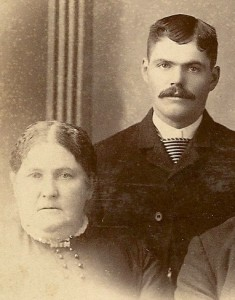 Ezra Plowman and his wife Barbara.  Ezra was Lide Plowman's beloved big brother.