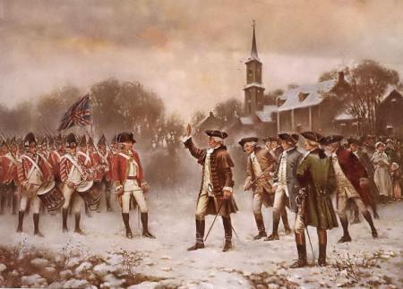 Revolutionary War Minutemen