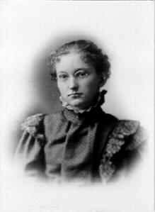 Myrtie Louisa Stephenson Winegar, age 18