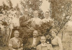 Some of the Plowman brothers and sisters in later years