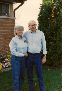 Bill and Ruth Winegar in 1992.