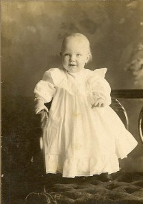 Donald Winegar, 1 year old.