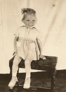 Esther Winegar, age 4.