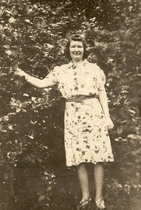 Esther Winegar, July 1941.