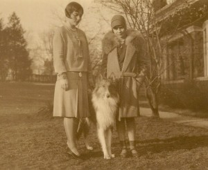 The Daniells sisters, Helen and Katherine, daughters of Allan and Esther Daniells.