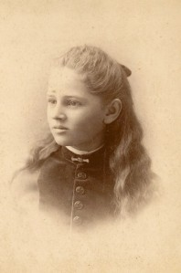 Mary Anna Daniells as a young lady.