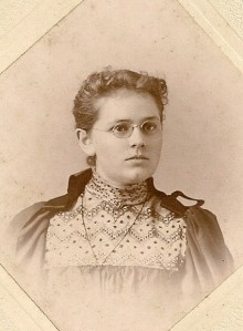 Mary Daniells as a teenager.