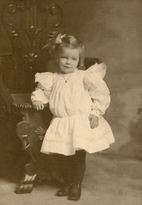 Nina Winegar, about 4 years old.