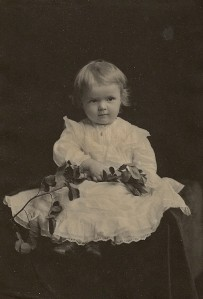 Ruth Daniells, daughter of Estee and Mamie, at 20 months