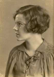 Betty in 1931 as a Freshman at Florida State Women's College.
