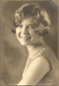 Betty Daniells, about 1930.