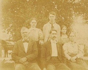 The Carey Reed and Katie Daniells family, September 1897