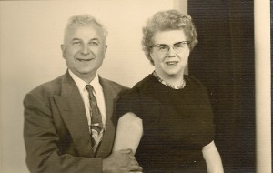 Dora and John Panchik in 1962